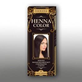 HNB Henna Color Balsam 19 - ciocolata negru