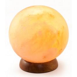 Lampa de sare glob